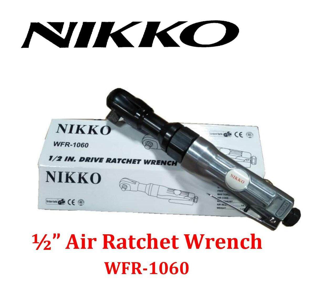 Nikko 1/2 Drive Air Ratchet Wrench