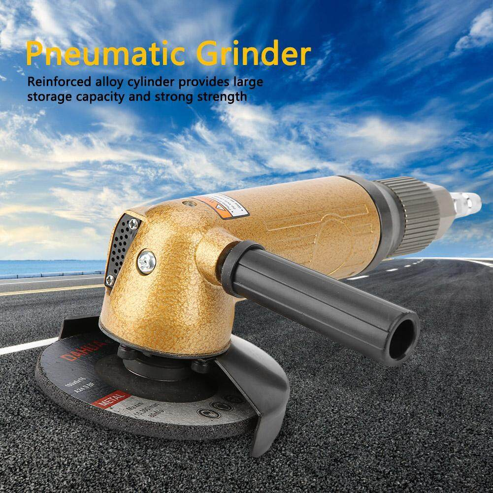 4in Sanding Pad Angle Grinder Polisher Pneumatic Grinding Polishing Tool 11000rpm