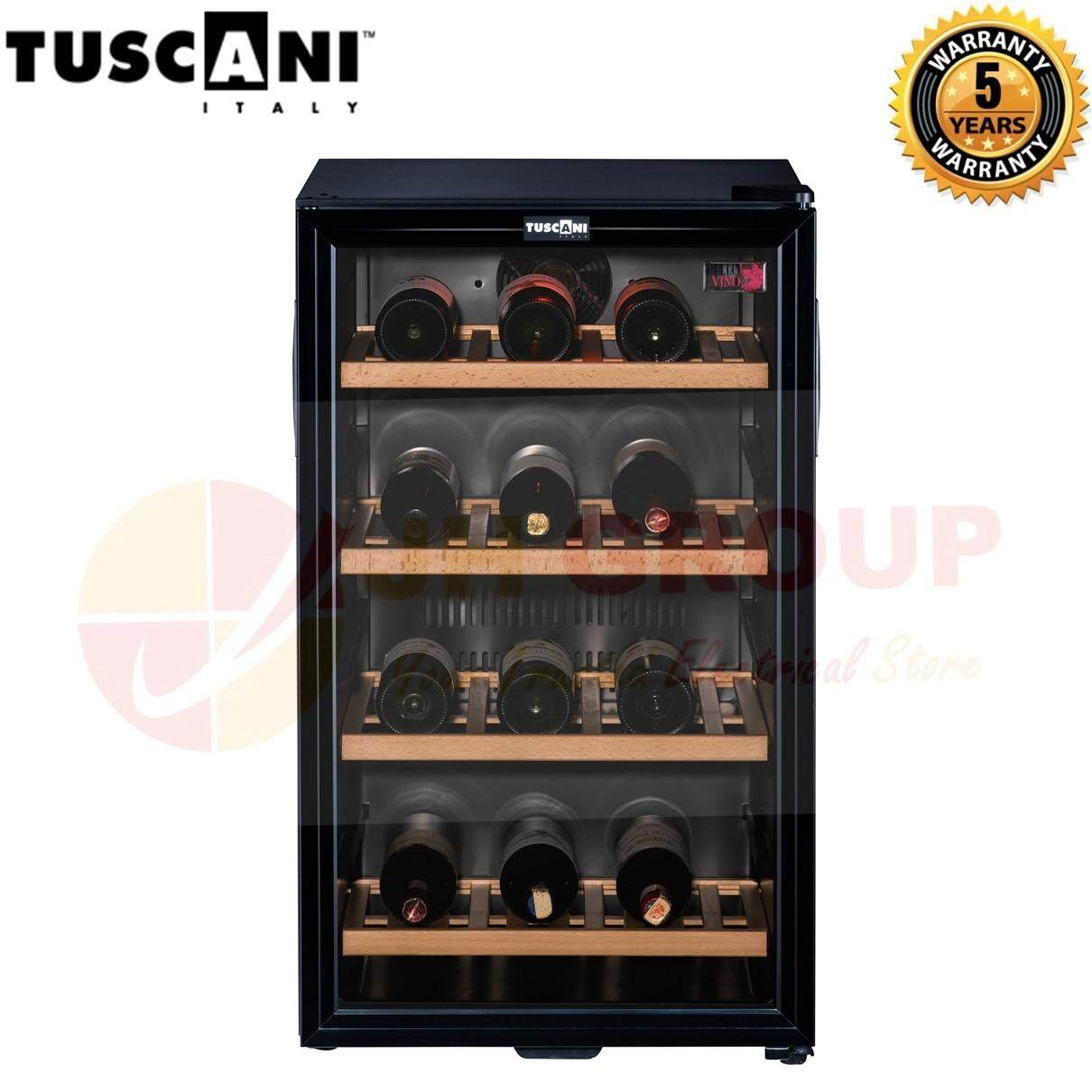 Tuscani Italy Tsc Bellona 38 (d) 115l Wine Cellar (32 - 40 Bottles) Wine Chiller Wine Cooler Wine Cabinet Wine Fridge By Jh Ecommerce.