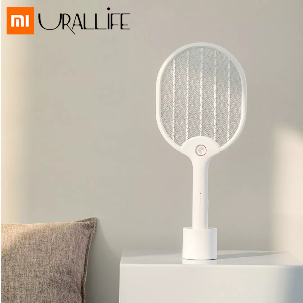Xiaomi Mijia Urallife Rechargeable Electric Mosquito Swatter Hand-held Bug Fly Household Mosquito Dispeller For Outdoor Home