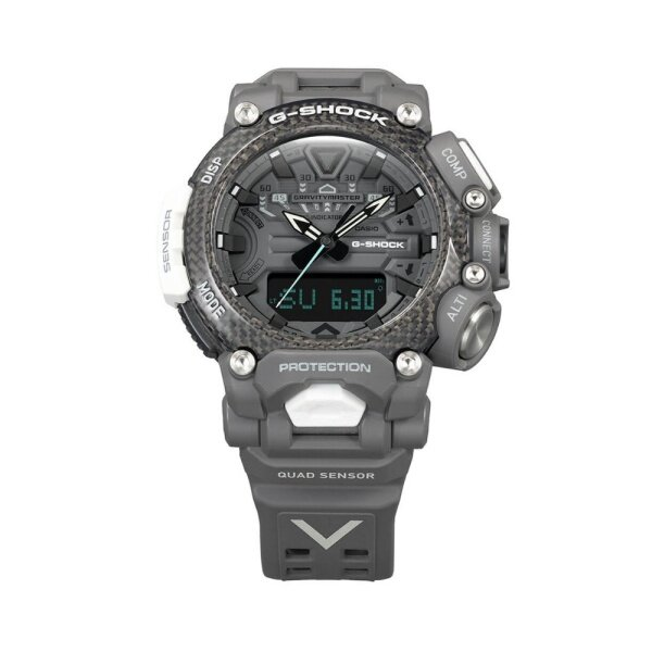 Casio G-shock Gravity Master ROYAL AIR FORCE Quad-Sensor Carbon-core Guard Bluetooth GR-B200RAF-8A / GRB200RAF Marco set 18 months warranty Malaysia