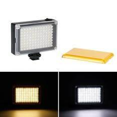 Selens 96 LED Điện Thoại Video Ảnh Chiếu Sáng Camera Nóng Giày Đèn LED cho Iphone XS Max X 8 Máy Quay Phim canon Nikon DSLR