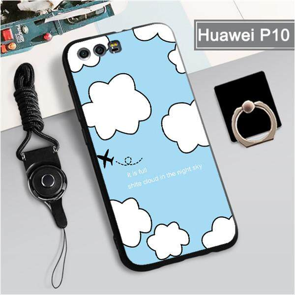 Casing for Huawei P10 360° Full Protection Phone Case Silicone Shockproof  Phone Case Cover Casing for Huawei P10, Huawei Phone case with Free Lanyard