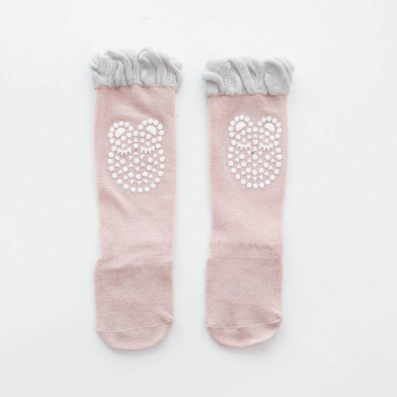 Baby Stockings Cotton Thin Section Breathable Children Anti-Mosquito Socks Plastic Knee Pads Slip Over The Knee Socks A Triple Pair By Fashion Talents.