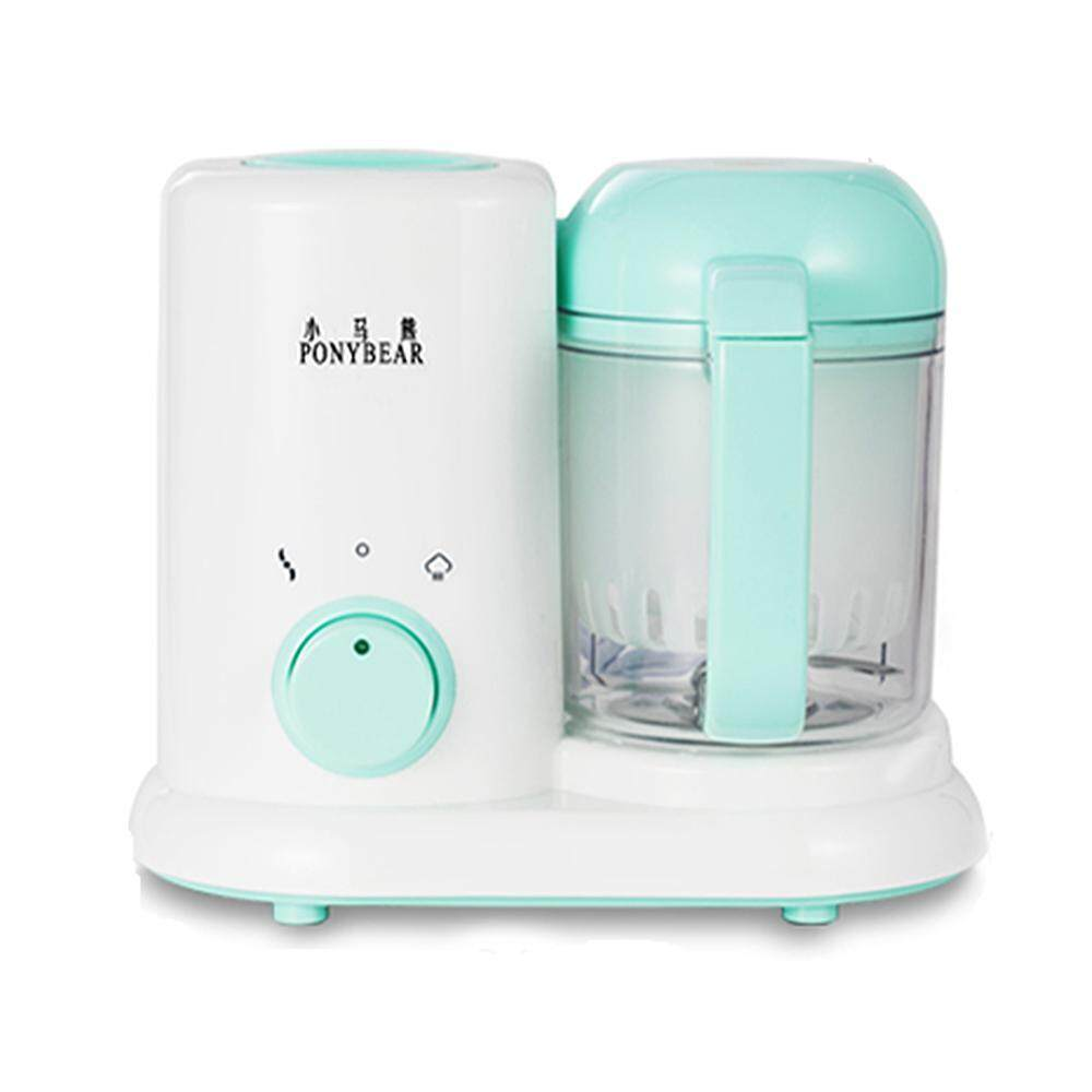 VAYu Portable Baby Puree Food Processor Steamer Blender,All in One Unit,True Time-Saving ,Mini Baby Food Maker Kit Machine Manual image on snachetto.com