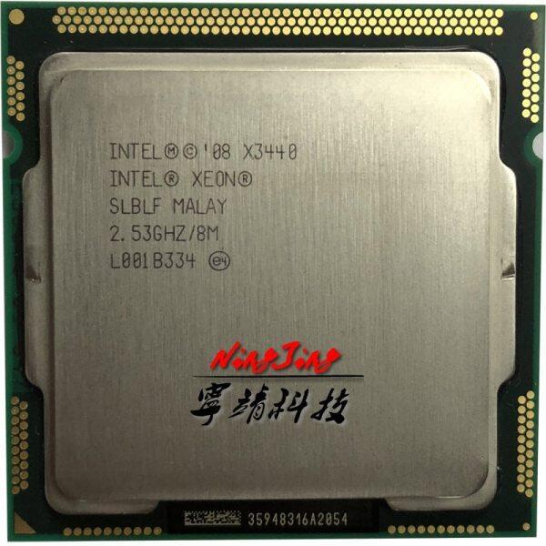 Bảng giá Bộ Xử Lý CPU Intel Xeon X3440 2.5 GHz Tám Nhân 95W 8M 95W LGA 1156 Phong Vũ