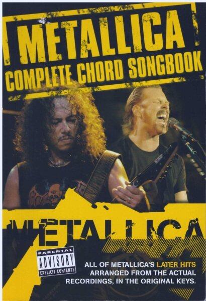 Metallica Complete Chord Songbook / Gitar Book / Guitar Book / Song Book / Voice Book Malaysia