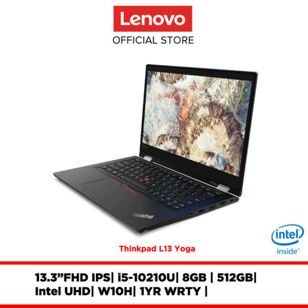 Lenovo Notebook Laptop ThinkPad L13 Yoga 20R5S00Q00 13.3FHD IPS/I5/8GB/512GBSSD/INTEL UHD/W10H/1YRWRTY Malaysia