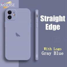 Ốp Hình Vuông Silicone Lỏng KISSCASE Cho iPhone 11 Pro Max 6 6S 7 7Plus 8 8Plus X XR XS MAX SE 2020 Se2, Ốp Điện Thoại CẠNH VUÔNG Kèm Carema Protect