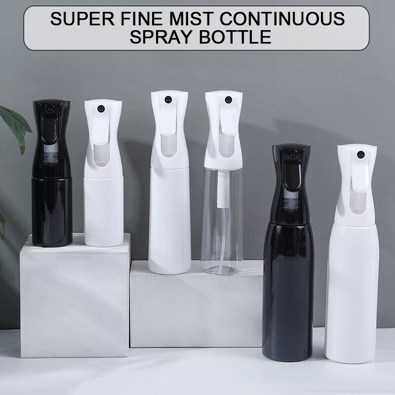 พลาสติกโปร่งใสเปล่าขวดสเปรย์ขวดน้ำหอมแอลกอฮอล์200ml/300ml/500ml.