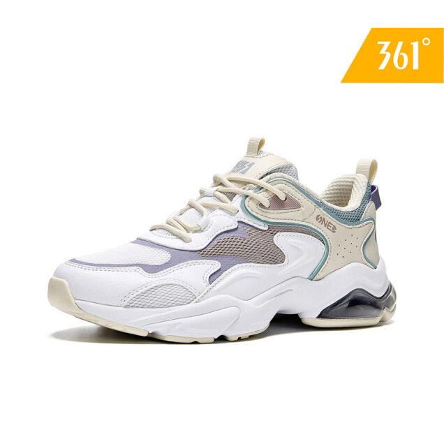 361 Degrees Giày chạy bộ nữ cổ điển, Giày thể thao du lịch trọng lượng nhẹ, Phong cách cổ điển, 582016794 giá rẻ
