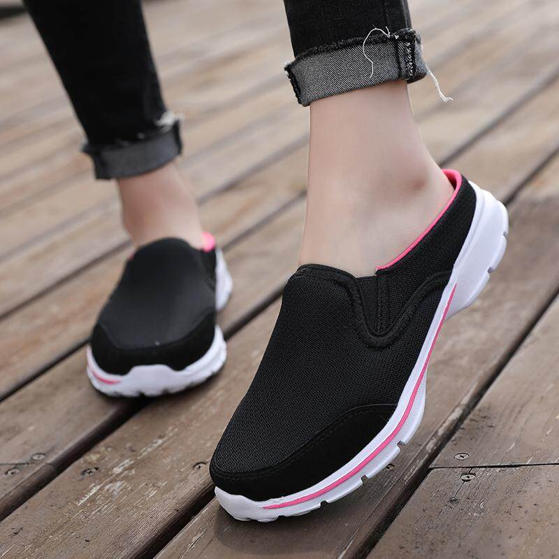 a8207462e08c Casual Half - Drag Women s Shoes Walking Shoes Sneakers BGY315