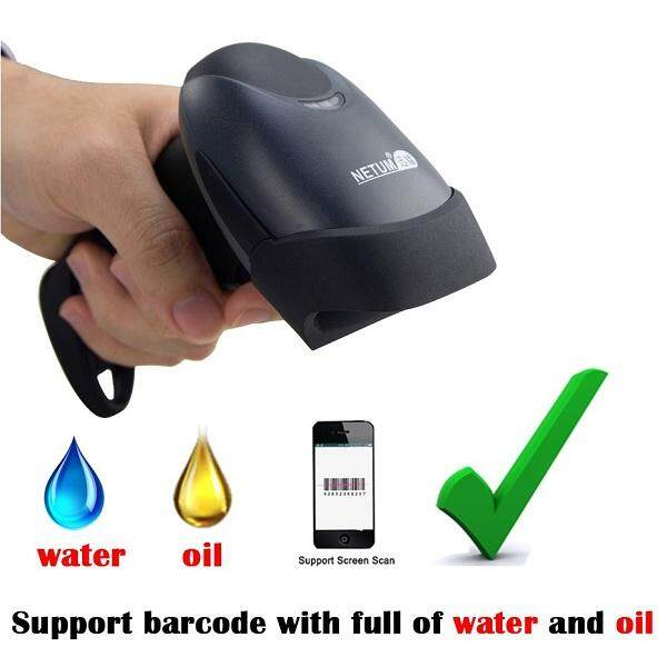 1D CCD Barcode Scanner Bar Code Reader Wired USB Support screen barcode scan Plug and play