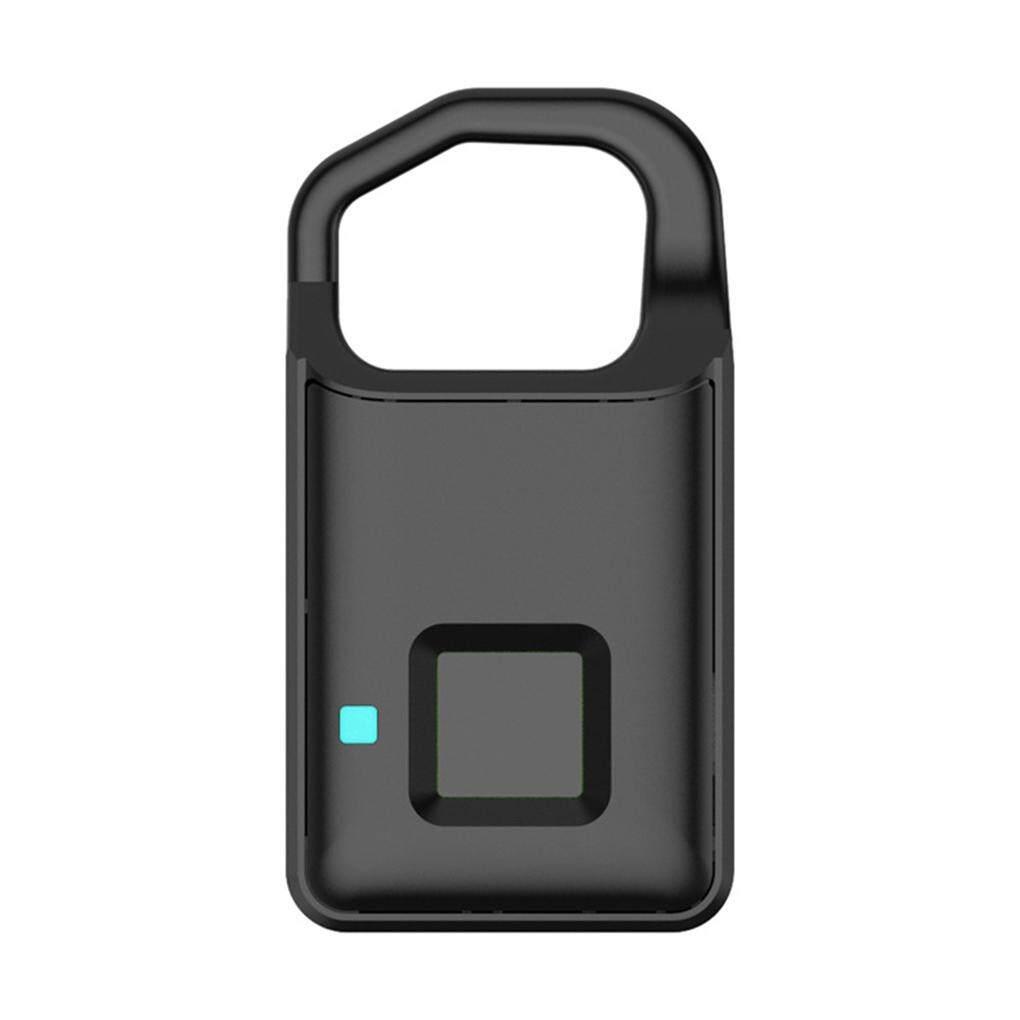 Fingerprint Lock USB Rechargeable Smart Keyless Anti-Theft Padlock Suitcase  Door Lock Security Systems Lock