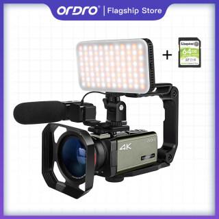 Máy Quay Video Phát Trực Tiếp, Máy Quay 4K ORDRO AX60 UHD Máy Ghi Hình Video 4K HD Với Zoom Quang Học 12x 3.5 HD 1080P 60 Khung Hình Giây thumbnail