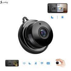 Camera An Ninh Mini S _ Way IP Wifi HD1080P, Camera Hồng Ngoại CCTV Phát Hiện Chuyển Động Ban Đêm Tầm Nhìn Nhỏ Không Dây An Ninh Gia Đình Ứng Dụng V380