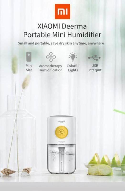 Original Xiaomi Deerma Mini USB Air Humidifier Mute Home Bedroom Protable Aromatherapy Machine from Xiaomi youpin Singapore