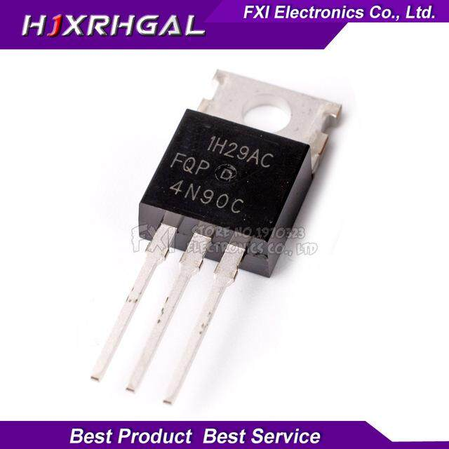 5PCS FQP4N90C TO220 4N90C FQP4N90 MOSFET 900V N-Ch Q-FET advance C-Series TO-220