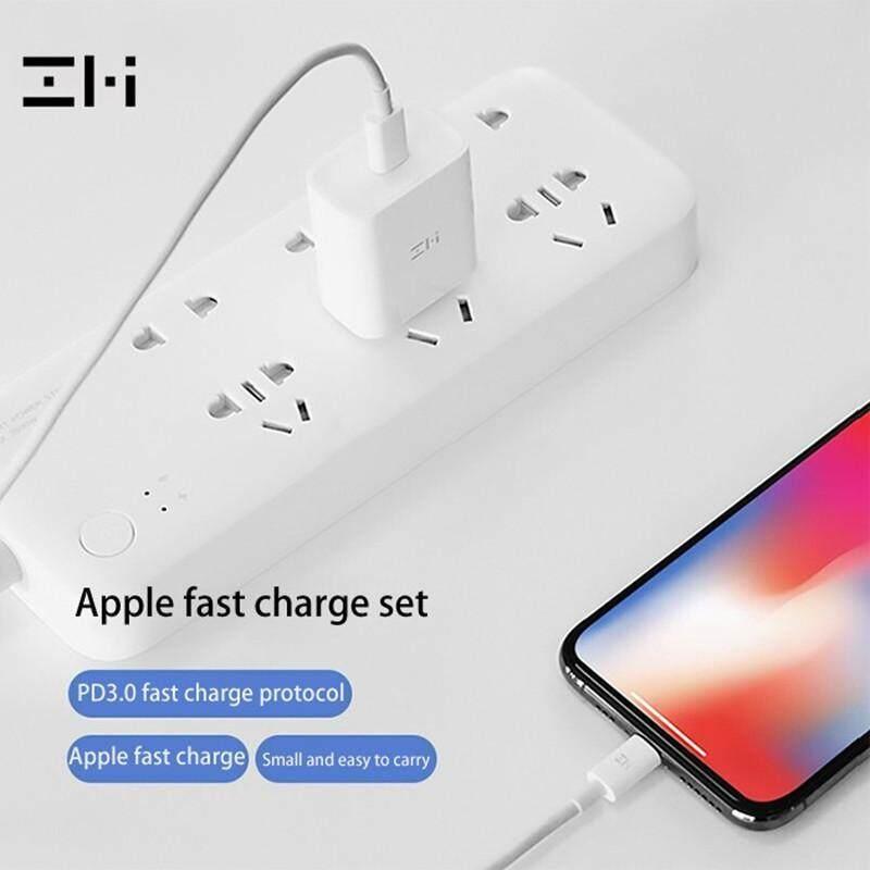 Giá Xiaomi ZMi 18W USB C Tường Bộ Sạc Sạc Nhanh PD 3.0 Bộ Chuyển Đổi Cho Iphone 11/ Pro/Max, MacBook Air/iPad Pro Hơn-Phích Cắm CN