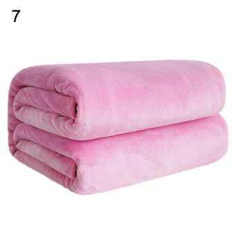 สีทึบนุ่มหนาอบอุ่นผ้าห่มสำลีโซฟาห้องนอนโยนพรมปูพื้น