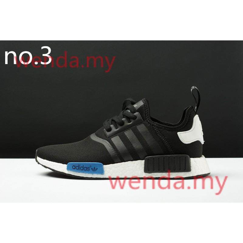 ยี่ห้อไหนดี  ราชบุรี Ready_stock_2019_new_adidas_nmd_runing_shoes_Low_tops_Leisure_Walking_Sneakers