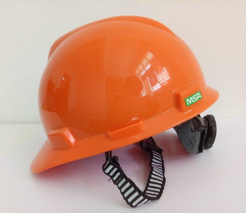 MSA Safety Helmet - V-Gard Orange