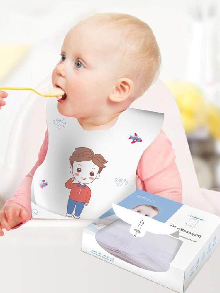 Jioumi Store Disposable Bib Waterproof Saliva Towel for Baby Baby About Silicone Bib Waterproof Adjustable Foldable Feeding bib