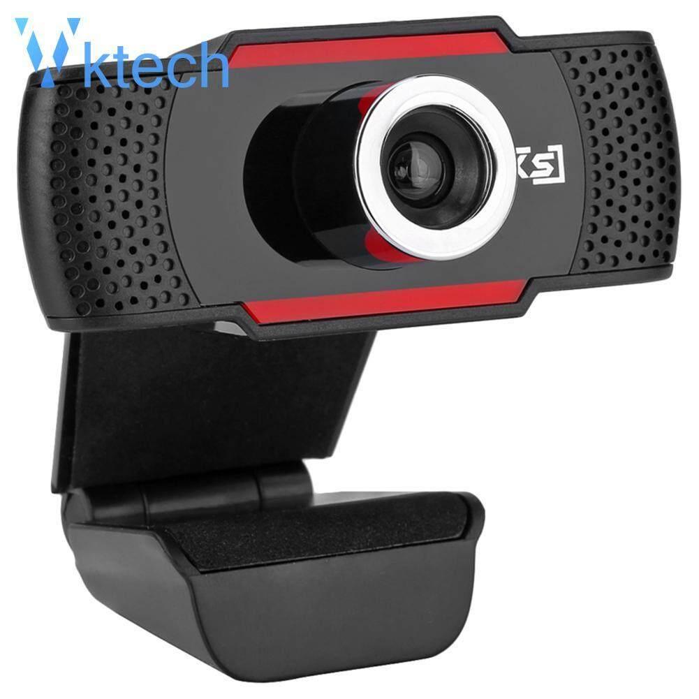 [Vktech] S30 HD 720P Rotatable Laptop Desktop USB Webcam w/ Sound-Absorbing Mic