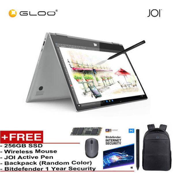 JOI Book Touch 300 SV-CL300 Cel N4000,4+32GB, 13.3 FHD, W10 Home, Silver {Free 256GB SSD + JOI Active Pen Pro 300 + Backpack (Random color) + Bitdefender 1Yr + Wireless Mouse} Malaysia
