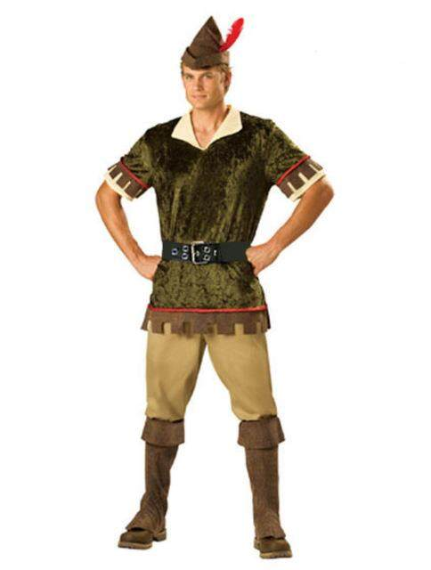 Halloween African Aboriginal clothing navy costume cosplay suit men's version Robin Hood role-playing clothing Robin Hood