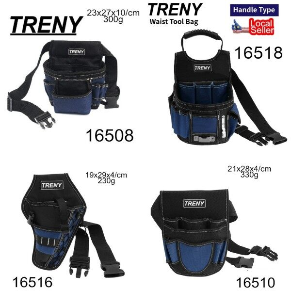 TRENY Heavy Duty Tool Bag tool bag electrician Electrician Oxford Cloth Tool Bag Heavy Duty Tool Bag Contractor Storage Hardware