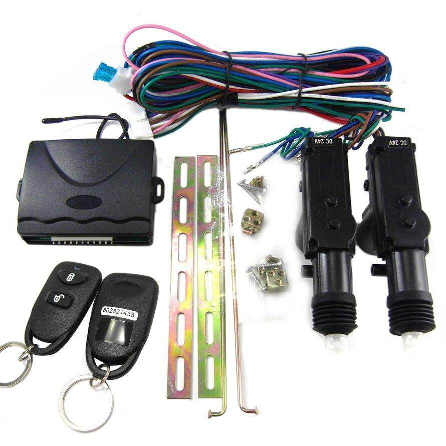 OSMAN 8114 Universal Keyless Entry System for Car Auto Remote Central Door Lock