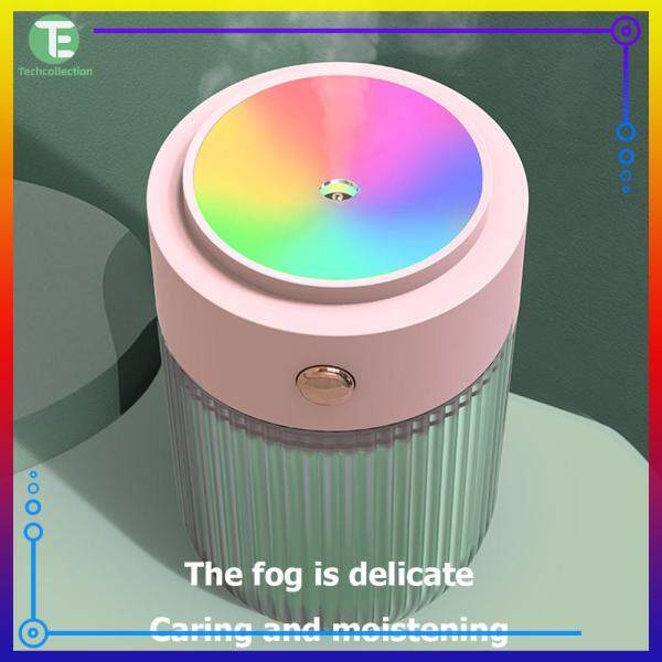 Practical USB Night Light Air Humidifier 2 In 1 LED Desktop Lantern Ambient Light Humidifier Singapore