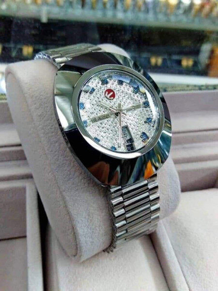 SPECIAL PROMOTION_RADO_DIASTAR_AUTOMATIC MAN WATCH FULL SET WITH  DATE DISPLAY MINERAL CRYSTAL GLASS WATCH FOR MEN Malaysia