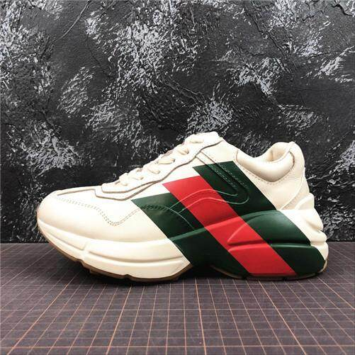 92e7957fe11 Gucci Original Rhyton Vintage Trainer Sneaker Men s Sports Sneakers Shoes  EU 40-44 High