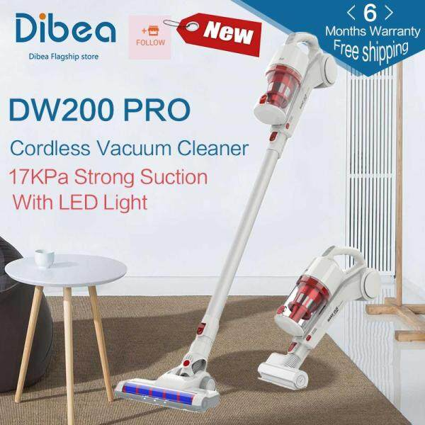 [Free shipping] [6 months warranty] Dibea DW200 Pro 2 In 1 Cordless Handheld Stick Vacuum Cleaner Powerful Suction Fast Cleaning Large Capacity Dust Collector Singapore