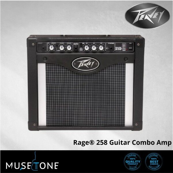PEAVEY RAGE 258 GUITAR AMPLIFIER WITH TRANSTUBE TECHNOLOGY | Rage® 258 Guitar Combo Amp Malaysia