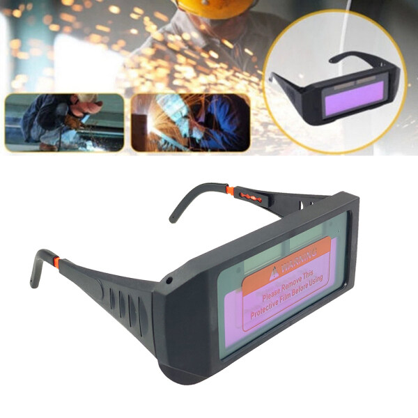 AUTO DARKENING SPECTACLE SOLAR POWER FOR WELDING Professional Solar Powered Auto Darkening Welding Glasses