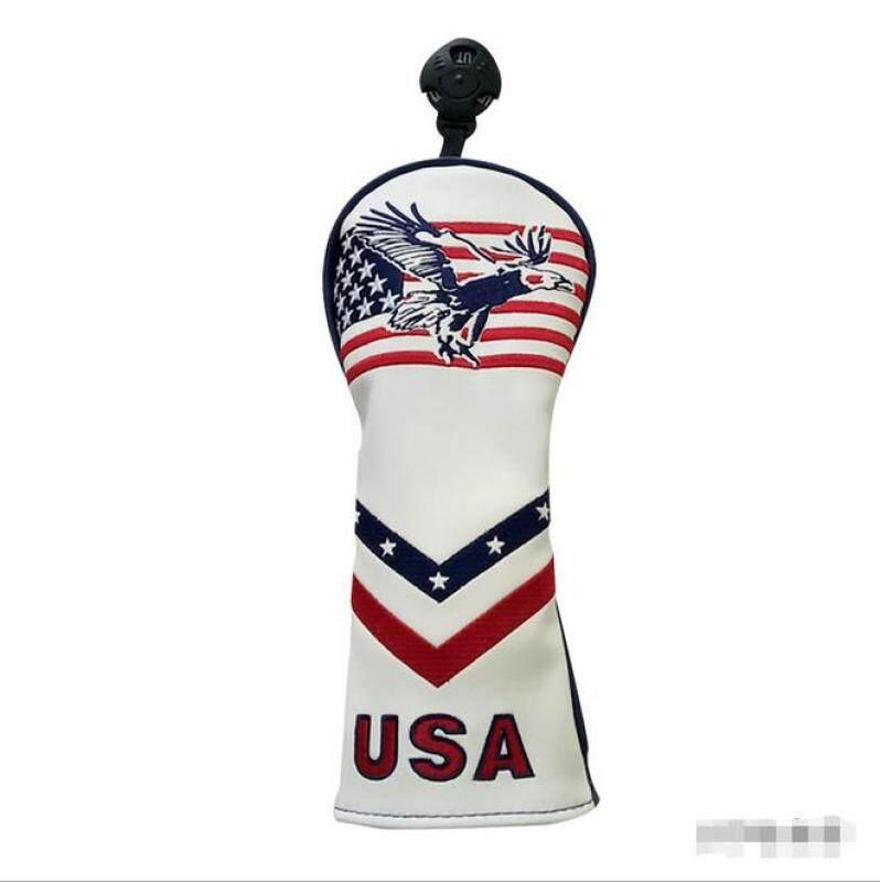 Câu Lạc Bộ Golf Tay Áo Golf USA Eagle Lai Bìa Ut Headcover