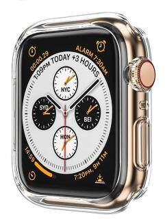 Ốp Lưng Cho Apple Watch , SE Series 5 4 44Mm 40Mm Ốp Bảo Vệ Ốp Lưng TPU Mềm Dành Cho Dòng Đồng Hồ 4 5 thumbnail
