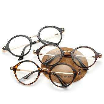 ปรากฏการณ์กรอบแว่นตารูปไข่กรอบล้างเลนส์แว่นตาโลหะกรอบแสงสายตาสั้น N ERD กรอบแว่นตาตกแต่งเลนส์