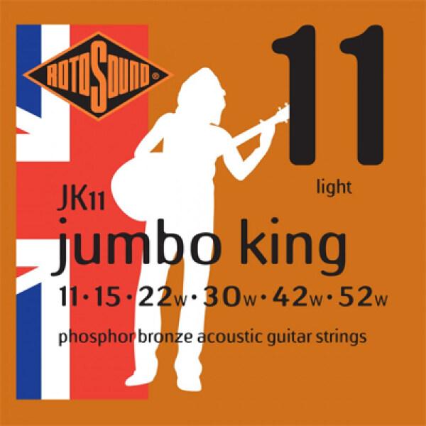 Rotosound (JK11) - Jumbo King Phosphor Bronze Acoustic Guitar Strings Malaysia