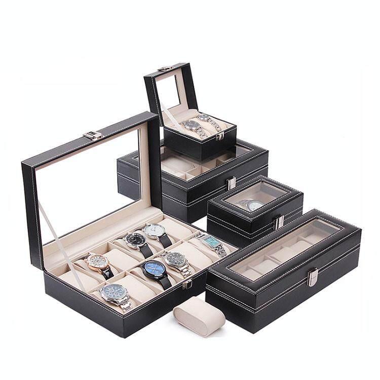 Modern Watch Box 6/10 Slots Watches Storage Display Fashion Jewellery Cases Kotak Jam Tangan Malaysia