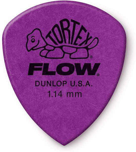 Jim Dunlop 558P114 TORTEX FLOW ® STANDARD PICK 1.14MM -12/Player Pack Malaysia