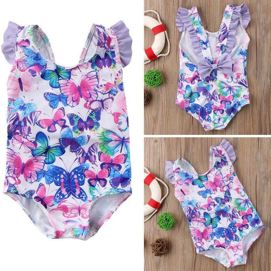 d23908ca9e6b3 Flower Baby Girls Hot Bikini Models Swimwear Cover up Swimsuit Bathers  Swimmers