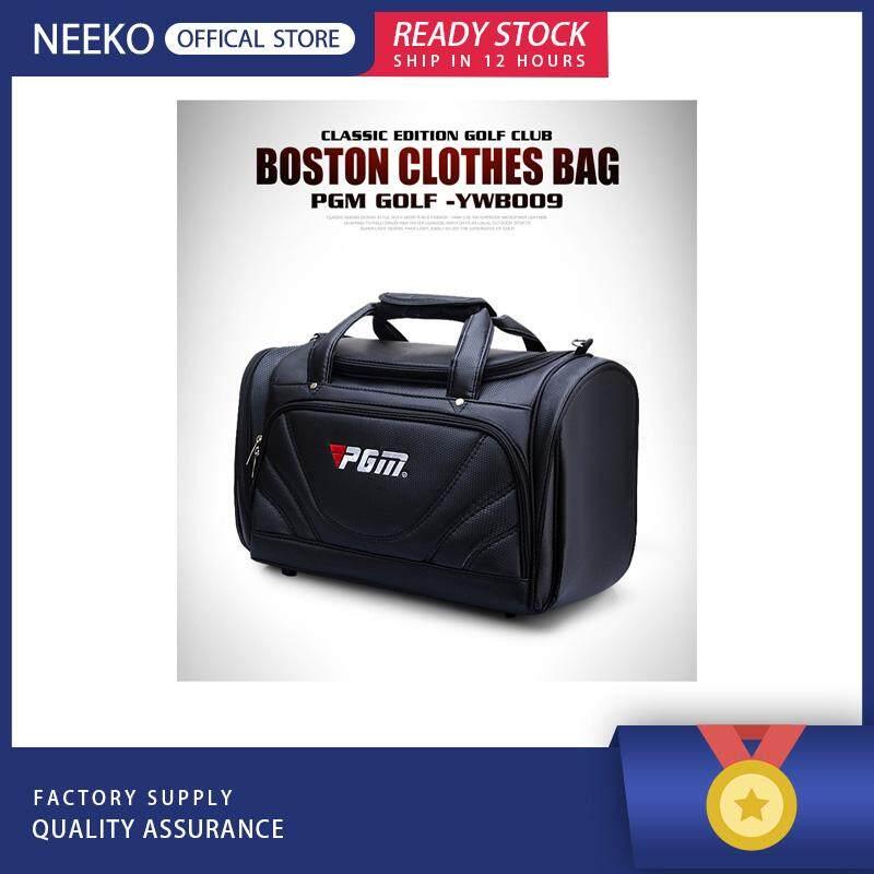 65fc9a50ed18 NEEKO『READY STOCK』PGM Golf Clothes Bag Men PU Ball Package Multi-functional  Clothes Bag Singapore