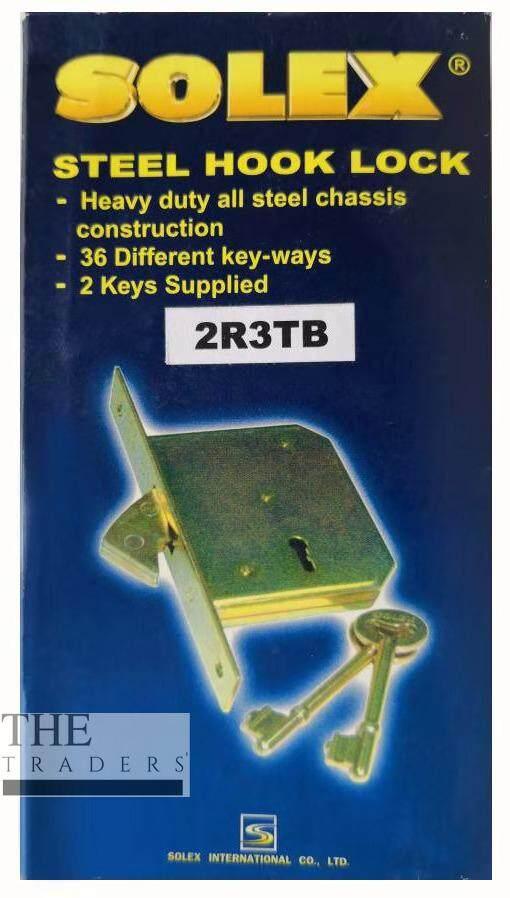 [100% ORIGINAL] SOLEX Gate Lock / Metal Door Lock / Iron Grill Hook Lock