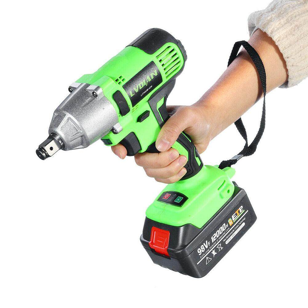 Practical Rechargeable Multifunctional Auto Repairing Punching Brushless Waterproof Cordless Impact Wrench
