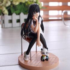 Jettingbuy Anime Yukinoshita Yukino Aguria PVC Đồ Chơi Mô Hình Động Bộ Nhà Để Xe Tượng Mô Hình