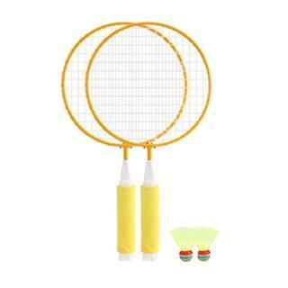 1 Cặp Vợt Cầu Lông Trẻ Em + Bộ 2 Chiếc Badminton, Đồ Chơi Thể Dục Thể Thao Ngoài Trời thumbnail